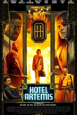 Hotel Artemis (2018) โรงแรมโคตรมหาโจร พากย์ไทยโรง - Cover