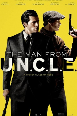 The Man from U.N.C.L.E. (2015) คู่ดุไร้ปรานี - Cover