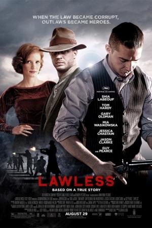Lawless 2012 คนเถื่อนเมืองมหากาฬ - Cover