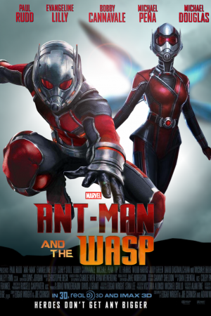 Ant-Man and The Wasp (2018) | แอนท์-แมน และ เดอะ วอสพ์ - Cover