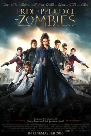Pride and Prejudice and Zombies (2016) เลดี้ ซอมบี้ - Cover