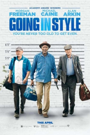 Going in Style (2017) : สามเก๋าปล้นเขย่าเมือง - Cover