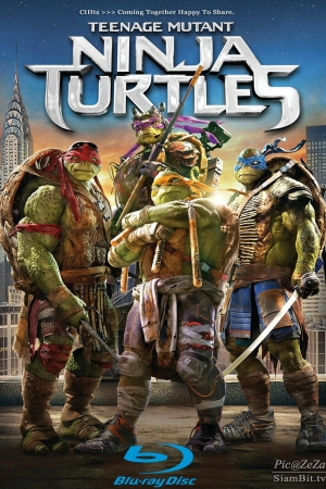 Teenage Mutant Ninja Turtles (2014) : เต่านินจา - Cover