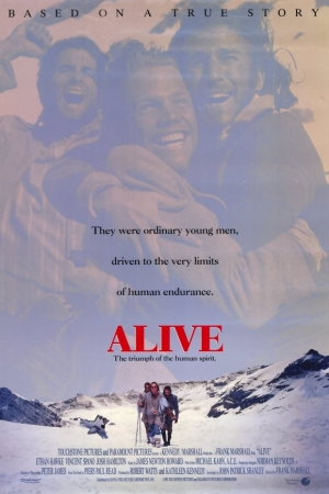 Alive (1993)  ปาฏิหาริย์สุดขั้วโลก  - Cover