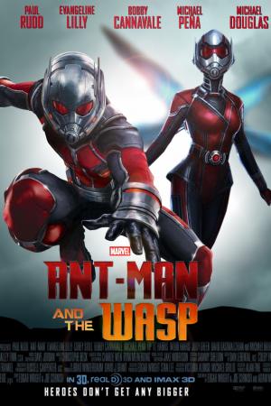 Ant-Man 2 แอนท์แมน 2 และ เดอะ วอสพ์ 2018 - Cover