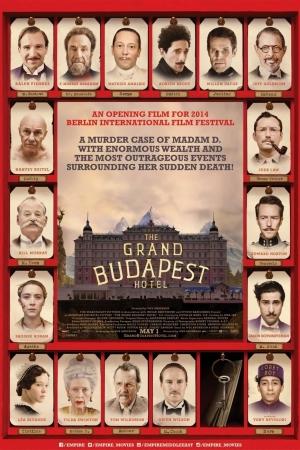 The Grand Budapest Hotel : คดีพิสดารโรงแรมแกรนด์บูดาเปสต์ 2014 - Cover
