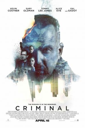 Criminal คนสมองเดือด (2016) - Cover