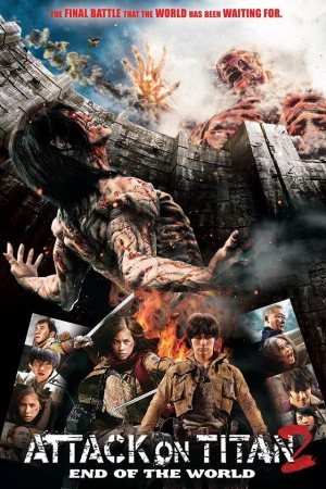 Attack On Titan Part 2: End Of The World (2015) : ศึกอวสานพิภพไททัน 2 - Cover