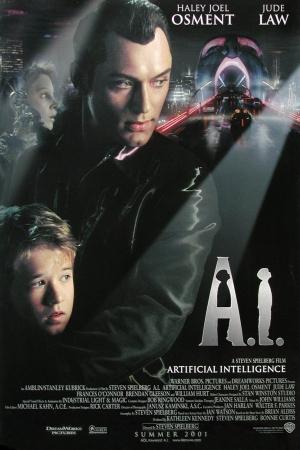 Ai Artificial Intelligence 2001 จักรกลอัจฉริยะ - Cover