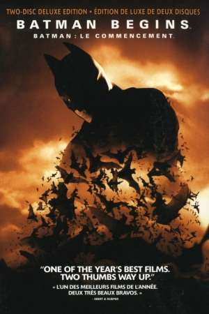 Batman Begins (2005) : แบทแมน บีกินส์ - Cover