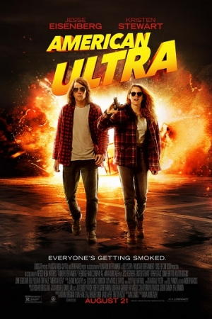 American Ultra พยัคฆ์ร้ายสายซี๊ดดดด 2015 - Cover
