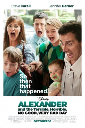 Alexander and the Terrible, Horrible, No Good, Very Bad Day อเล็กซานเดอร์กับวันมหาซวยห่วยสุดๆ 2014 - Cover