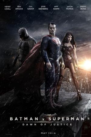 BATMAN V SUPERMAN DAWN OF JUSTICE 2016 แบทแมน ปะทะ ซูเปอร์แมน แสงอรุณแห่งยุติธรรม - Cover