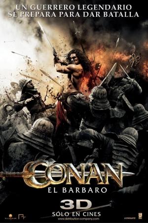 Conan the Barbarian 2011 โคแนน นักรบเถื่อน - Cover