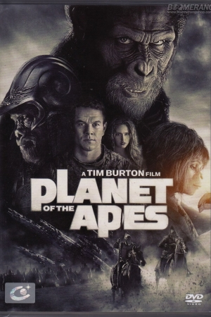 Planet of the Apes 2001 พิภพวานร - Cover