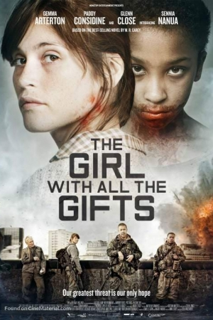 The Girl With All The Gift (2016) : เชื้อนรกล้างซอมบี้ - Cover
