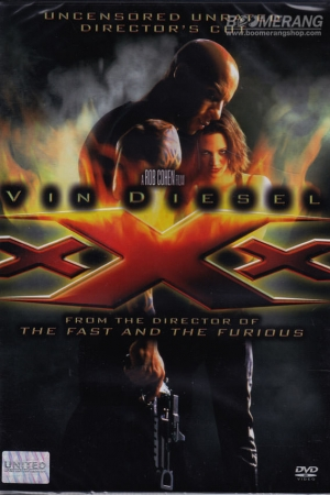 xXx (2002) ทริปเปิ้ลเอ็กซ์ พยัคฆ์ร้ายพันธุ์ดุ - Cover