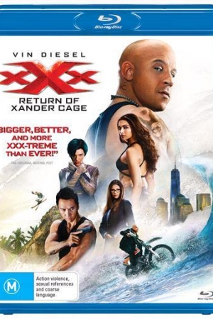 xXx 3 The Return of Xander Cage 2017 ทลายแผนยึดโลก - Cover