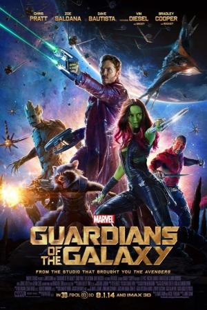 Guardians of the Galaxy Vol. 1 รวมพันธุ์นักสู้พิทักษ์จักรวาล 1 - Cover