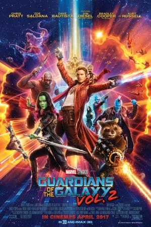 Guardians of the Galaxy Vol. 2 รวมพันธุ์นักสู้พิทักษ์จักรวาล 2 2017 - Cover