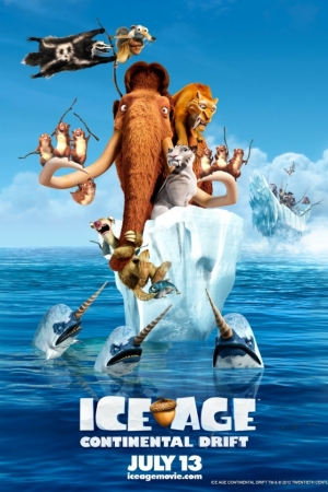 Ice Age 4 Continental Drift ไอซ์ เอจ 4 เจาะยุคน้ำแข็ง - Cover