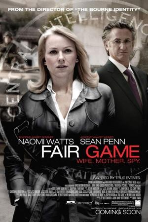 Fair Game (2010) คู่กล้าฝ่าวิกฤตสะท้านโลก - Cover