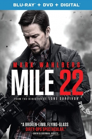 Mile 22 (2018) : คนมหากาฬ เดือดมหาประลัย  - Cover