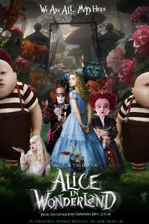 Alice in Wonderland อลิซผจญแดนมหัศจรรย์ ภาค 1 - Cover