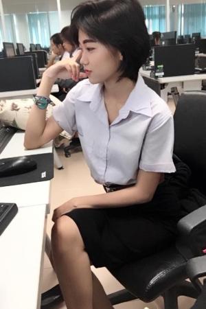 น้องคิม สาวมหาลัย โคตรน่ารัก