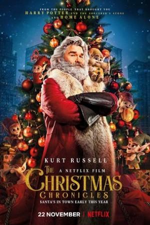The Christmas Chronicles 2018 : ผจญภัยพิทักษ์คริสต์มาส - Cover