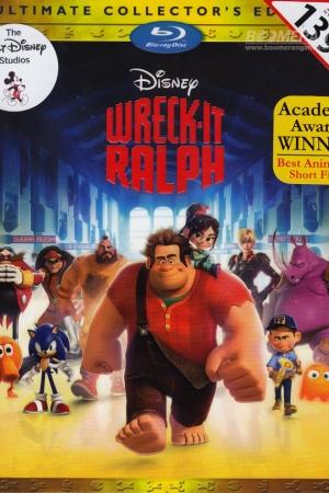 Wreck-It Ralph ราล์ฟ วายร้ายหัวใจฮีโร่ 2012 - Cover