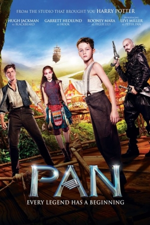 Pan (2015) ปีเตอร์ แพน 2015 - Cover