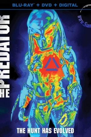 The Predator (2018) : เดอะ เพรดเดเทอร์ - Cover