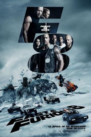 Fast and Furious 8 (2017) ฟาสต์แอนด์ฟิวเรียส 8 เร็ว...แรงทะลุนรก - Cover
