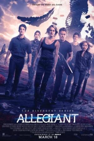 Allegiant (2016) อัลลีเจนท์ ปฎิวัติสองโลก 3 - Cover