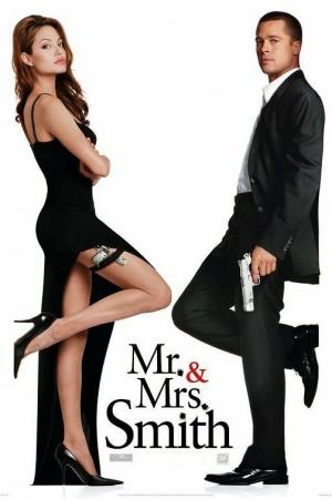 MR. & MRS. SMITH (2005) : มิสเตอร์แอนด์มิสซิสสมิธ นายและนางคู่พิฆาต - Cover