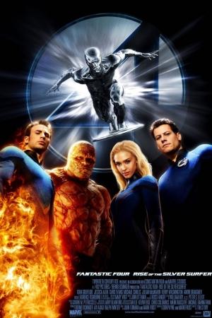 Fantastic Four สี่พลังคนกายสิทธิ์ (ภาค 2) 2007 - Cover