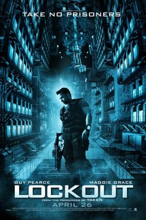 Lockout (2012) แหกคุกกลางอวกาศ - Cover