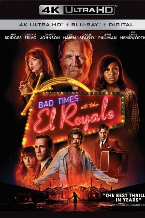 Bad Times at the El Royale (2018) ห้วงวิกฤตที่ เอล โรแยล (บรรยายไทย) - Cover