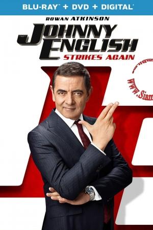Johnny English 3: Strikes Again (2018) : พยัคฆ์ร้าย ศูนย์ ศูนย์ ก๊าก รีเทิร์น - Cover