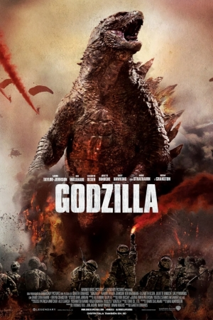 Godzilla (2014) - ก็อดซิลล่า - Cover