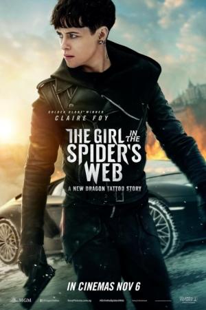 The Girl in the Spider s Web (2018) : พยัคฆ์สาวล่ารหัสใยมรณะ - Cover