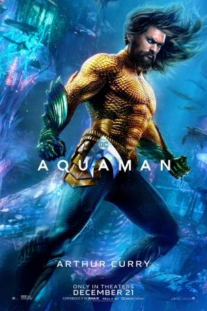 [* ใหม่!!ภาพชัดมาแล้ว    ซับเกาหลีฝัง *] • Aquaman (2018) : อควาแมน เจ้าสมุทร  - Cover