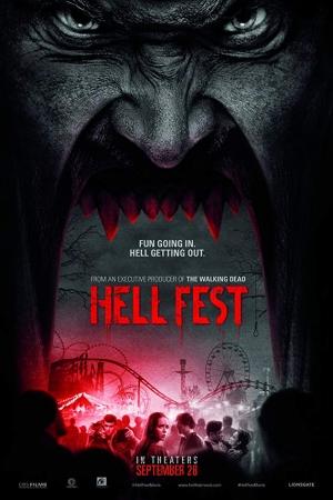 Hell Fest สวนสนุกนรก (2018) - Cover