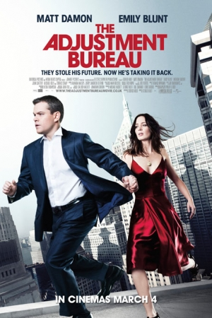 The Adjustment Bureau (2011) พลิกชะตาฝ่าองค์กรนรก - Cover