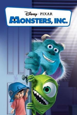 Monsters, Inc. บริษัทรับจ้างหลอน (ไม่) จำกัด 2001 - Cover