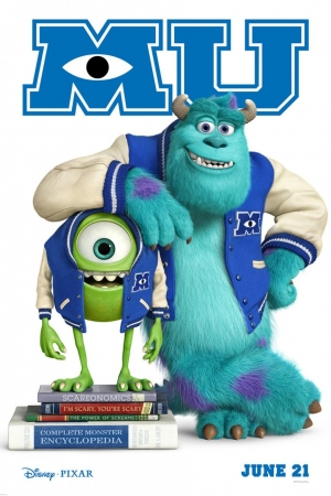 Monsters University มหา`ลัย มอนส์เตอร์ 2013 - Cover