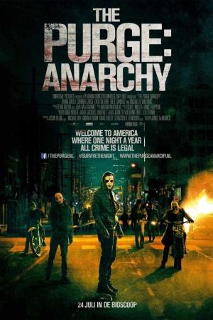 The Purge Anarchy คืนอำมหิต คืนล่าฆ่าไม่ผิด 2014 - Cover