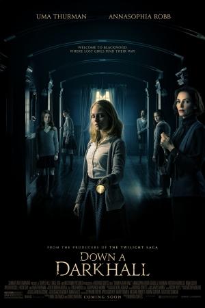 Down a Dark Hall (2018) : โรงเรียนปีศาจ  - Cover