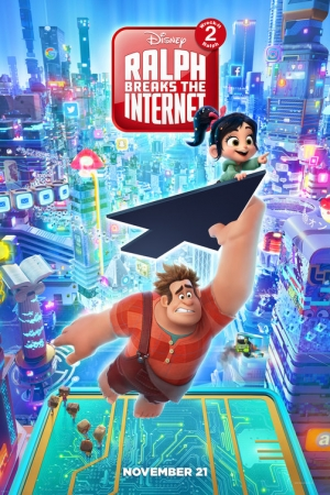 Ralph Breaks the Internet (2018) : ราล์ฟตะลุยโลกอินเทอร์เน็ต: วายร้ายหัวใจฮีโร่ 2 - Cover